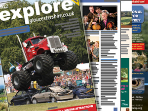 2012 Explore Gloucestershire printed guide NOW OUT