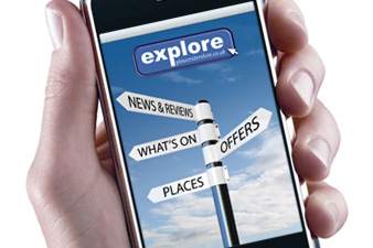 6,000 downloads of the Explore Gloucestershire iPhone APP!