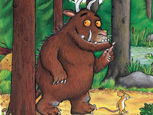 The Gruffalo Trail in Gloucestershire