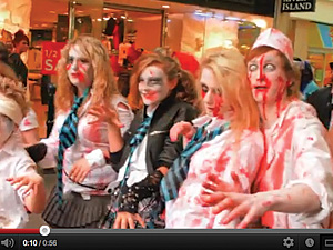 Gloucester Zombie Walk - taster vid for 2012