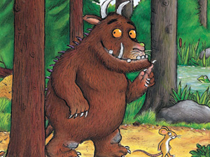 meet the Gruffalo at the launch of the new trail at Dean Heritage Centre!
