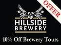 10% off Brewery Tours