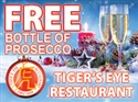 FREE Bottle of Prosecco for 4 people