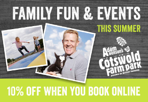 Summer Holiday Activities at Adam Henson's Cotswold Farm Park