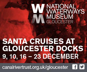 Sail with Santa at Gloucester Docks & Gloucester Waterways Museum