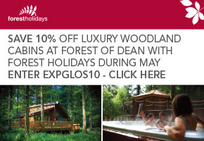 Forest Holidays 10% Offer for Cabins in the Forest of Dean Gloucestershire