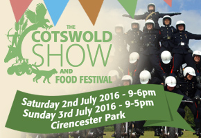 Cotswold Show & Food Festival at Cirencester Park July 2 & 3 2016