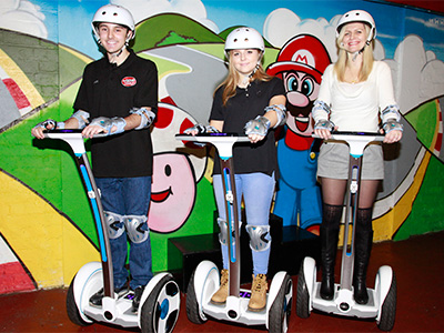 Segways at JDR Karting