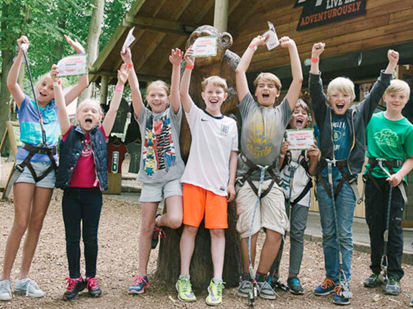 Childrens Birthday Parties at Go Ape