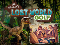 Chidlrens Birthday Parties at Mr. Mulligan's Lost World Golf
