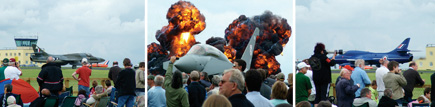 Great displays on and off the ground at Kemble Air Day