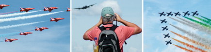 Air enthusiasts love it at the Royal International Air Tattoo (RIAT)
