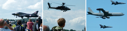 Expect to see a variety of planes and helicopters at Kemble Air Day 2009